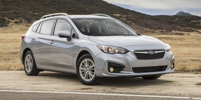 """<p>If you don't want to drop a bunch of cash on a WRX or STI, the base Impreza is a fine choice. Standard all-wheel drive and an available stick shift mean you won't be bored behind the wheel. <a href=""""https://www.ebay.com/itm/2017-Subaru-Impreza-Sport/173896501710?hash=item287d0a09ce:g:n5UAAOSwMUpc0gZi"""" target=""""_blank"""">Here's a used sedan model</a> up for grabs on eBay right now. </p>"""