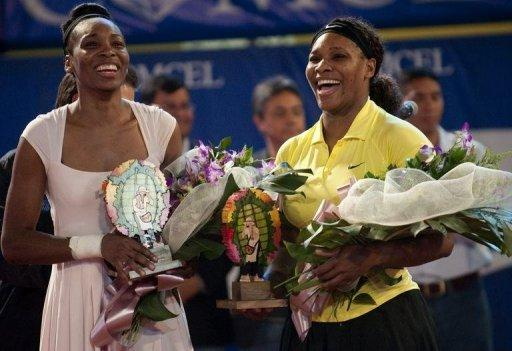 Serena (R) and Venus Williams have both seen their performances decline