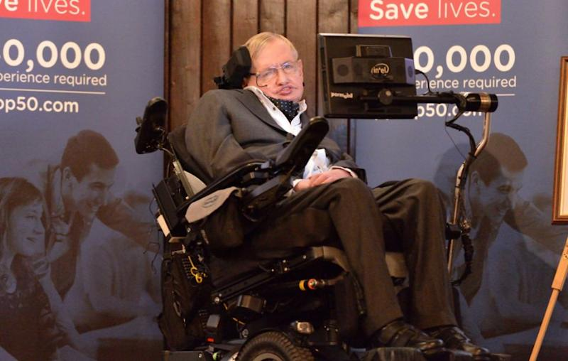 The British physicist passed away at age 76 on Wednesday morning. Source: Getty