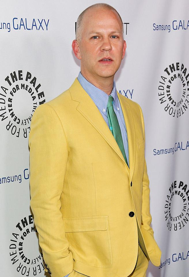BEVERLY HILLS, CA - FEBRUARY 27:  Writer/director Ryan Murphy attends the Inaugural PaleyFest Icon Award on his behalf at The Paley Center for Media on February 27, 2013 in Beverly Hills, California.  (Photo by Imeh Akpanudosen/Getty Images)
