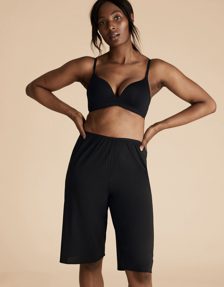 Culottes with Cool Comfort™ Technology. (Marks & Spencer)