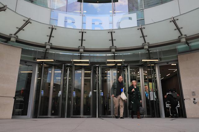 BBC Broadcasting House in London. (Getty)