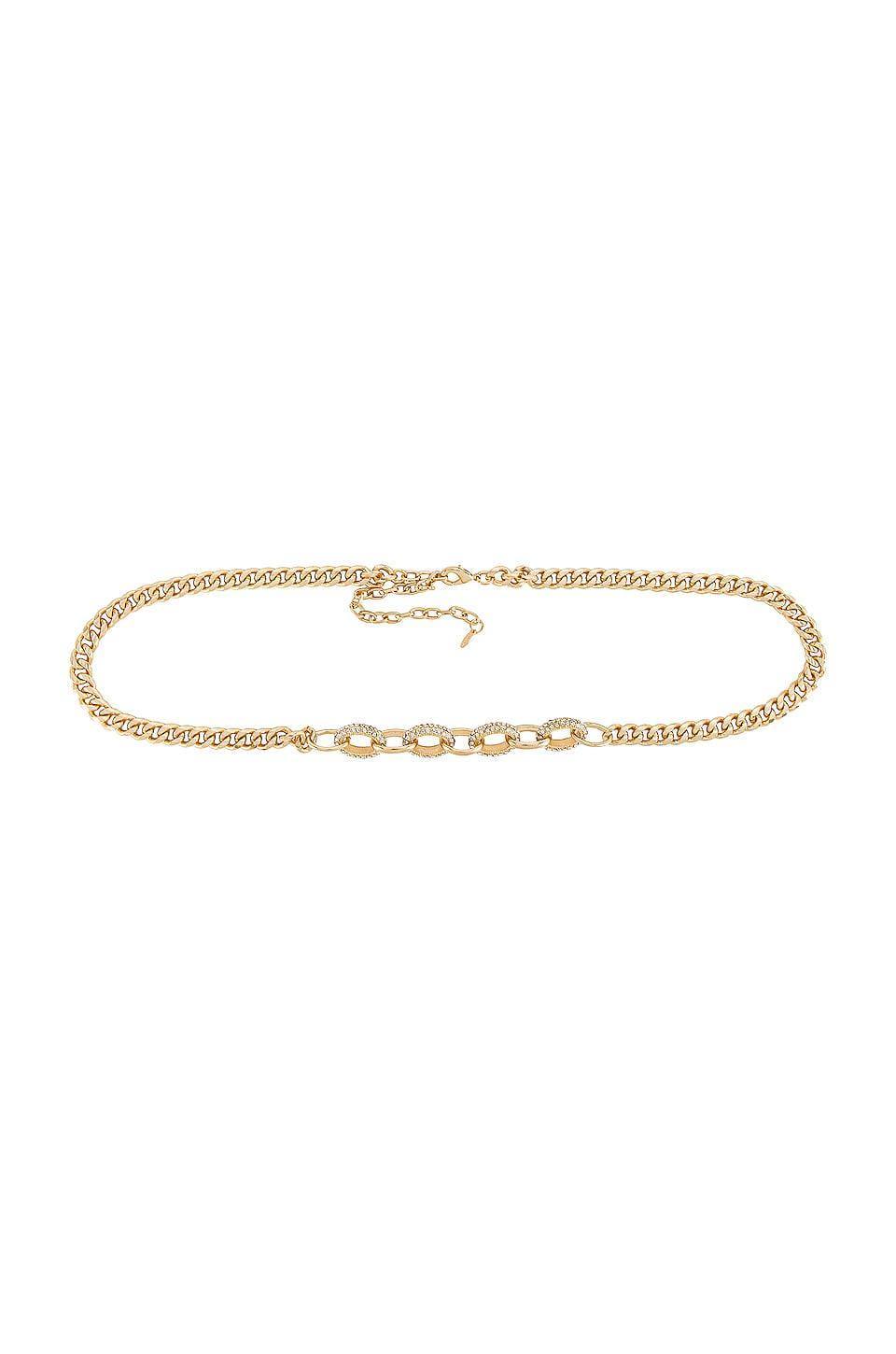 <p>This <span>Ettika Crystal Stud Chain Belt</span> ($65) is such a great everyday accessory.</p>