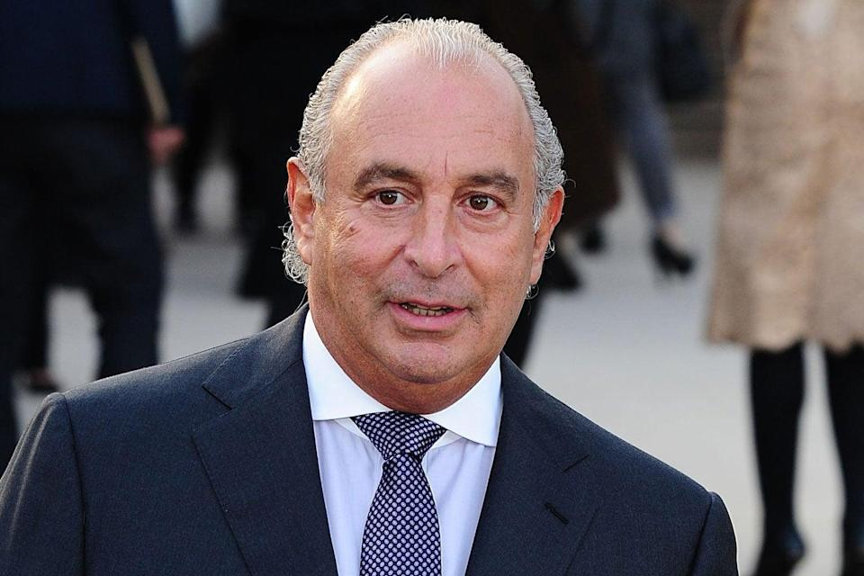 Sir Philip Green: has gone from 'King of the High Street' to the 'unacceptable face of capitalism' (Ian West/PA Wire)