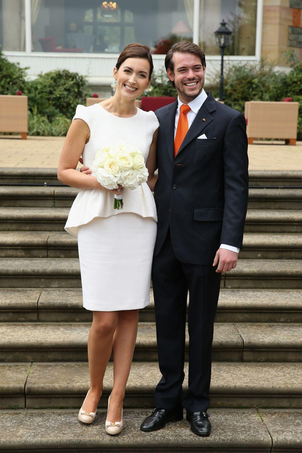 <p>Lademacher, an accomplished bioethics researcher and former Condé Nast employee, became Princess Claire of Luxembourg when she wed Prince Felix in 2013. The two met at a private university in Switzerland. </p>