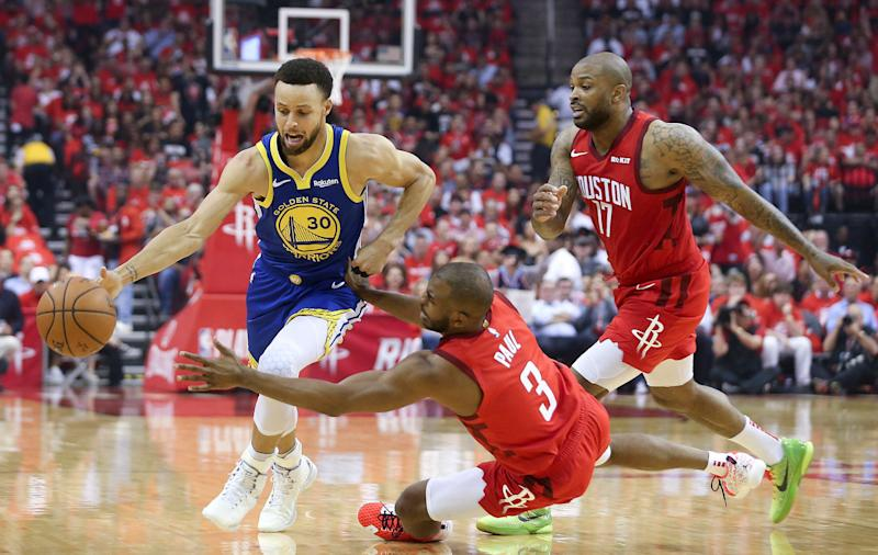 87812641f4b3 NBA playoffs  Warriors eliminate Rockets with Game 6 win