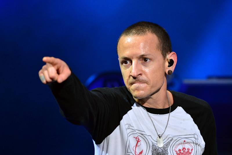 <p>Bennington was 41 when he took his own life last year.</p>
