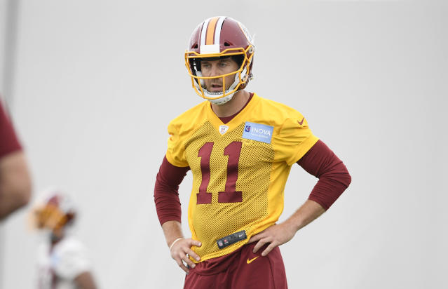 He's in new gear, you can get his old gear: Alex Smith and his wife have donated dozens of Kansas City Chiefs items to a Kansas City-area thrift store, and sales will benefit a local non-profit. (AP)