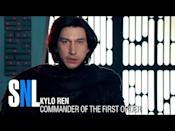 """<p>If not for the visceral acting of Adam Driver, the character of Kylo Ren would have been a disaster in any lesser performer's hands. That said, Kylo's angst made for some great meme moments. Bonus points for the sexy shirtless scene!</p><p><a href=""""https://www.youtube.com/watch?v=FaOSCASqLsE"""" rel=""""nofollow noopener"""" target=""""_blank"""" data-ylk=""""slk:See the original post on Youtube"""" class=""""link rapid-noclick-resp"""">See the original post on Youtube</a></p>"""