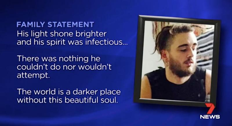 The family released a statement on Wednesday. Source: 7 News