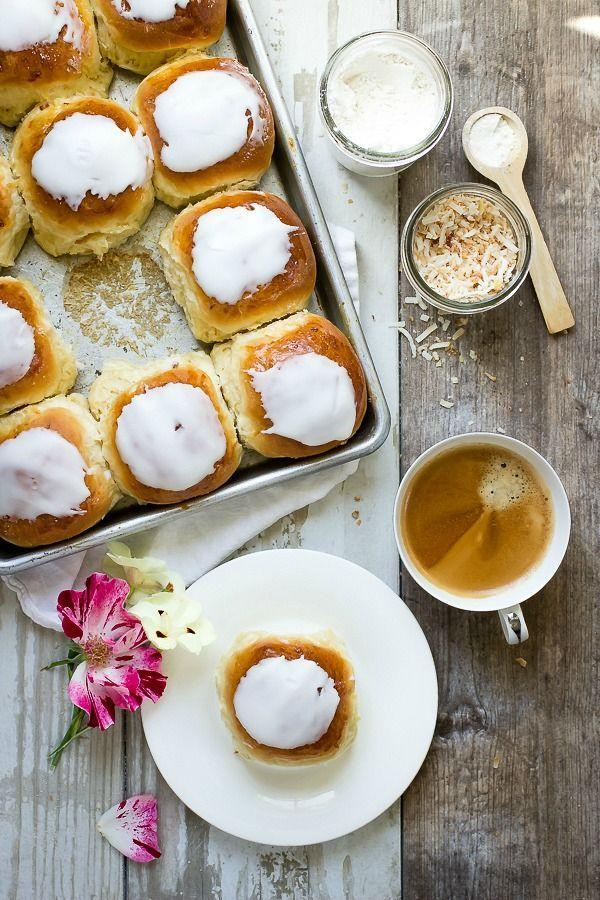 """<p>Whisk mom away to the islands with a sweet glaze and coconut flakes atop these quick-rise buns.</p><p><strong>Get the recipe at <a href=""""http://foodnessgracious.com/2015/05/iced-coconut-buns/"""" rel=""""nofollow noopener"""" target=""""_blank"""" data-ylk=""""slk:Foodness Gracious"""" class=""""link rapid-noclick-resp"""">Foodness Gracious</a>.</strong> </p>"""