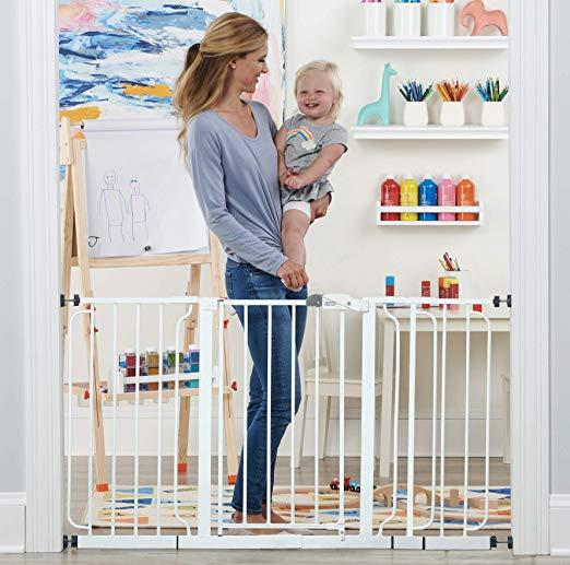 Extra wide baby gate from Regalo