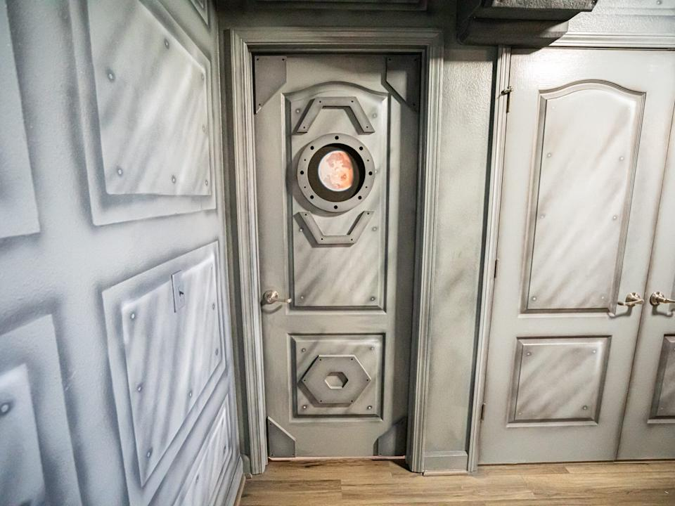 """Some doors even have portholes. <p class=""""copyright"""">Loma Homes</p>"""
