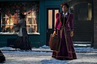 """Billed as a musical adventure about """"the strength of family and the power of possibility,"""" this new Christmas movie follows Jeronicus Jangle (Forest Whitaker), a legendary toymaker, and his granddaughter (Madalen Mills) on a magical journey after Jangle's apprentice (Keegan-Michael Key) steals his most coveted invention."""