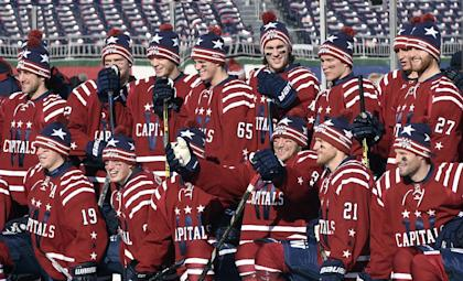 The Winter Classic is the latest step in increasing the popularity of hockey in Washington. (AP Photo/Susan Walsh)