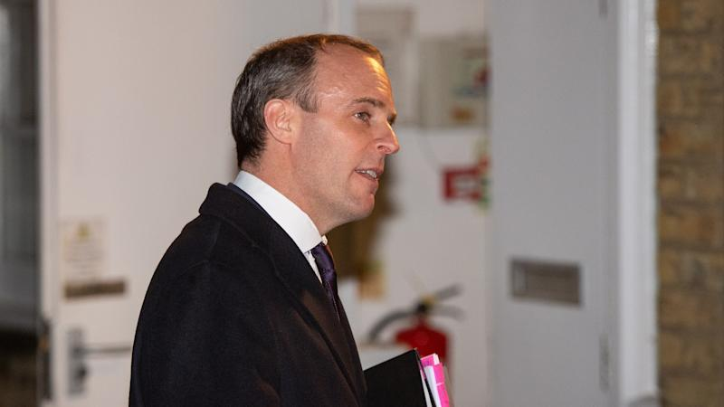 Dominic Raab 'not really' worried about losing his seat despite opinion poll