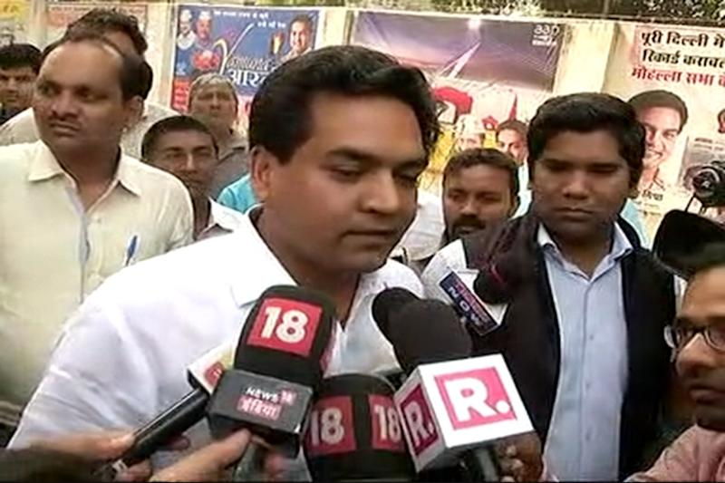 Reject Kapil Mishra's Nomination Papers for Delhi Assembly Elections: AAP to EC
