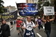 Australia says offshore processing is needed to stop the deaths that occur when people-smugglers cram asylum seekers into rickety boats for the treacherous sea voyage