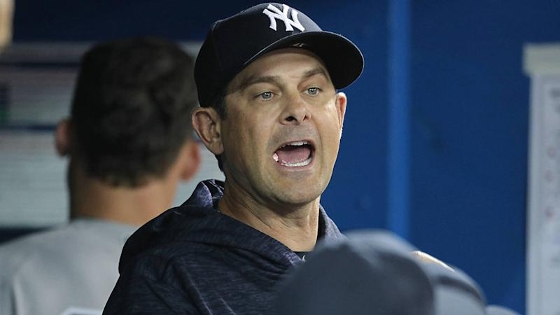 Yankees' Aaron Boone unloads more F-bombs after an ejection