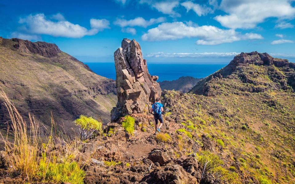 A few cruise ships can take you to the peace and quiet of El Hierro - GETTY