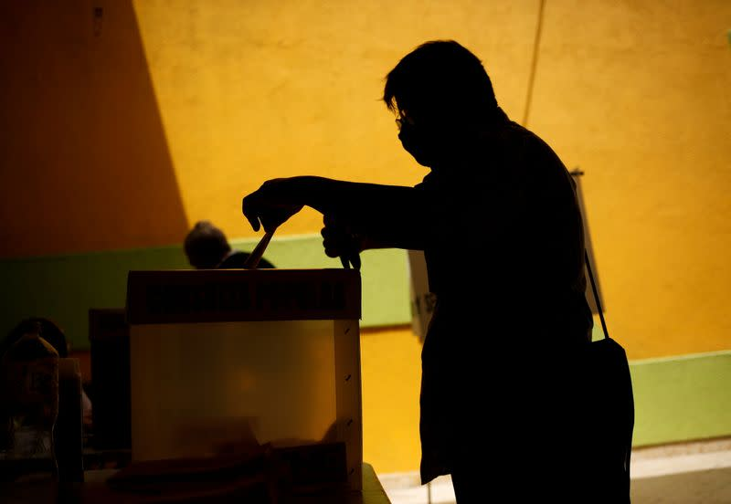 Mexico holds referendum on whether to investigate five former Mexican leaders, in Ciudad Juarez