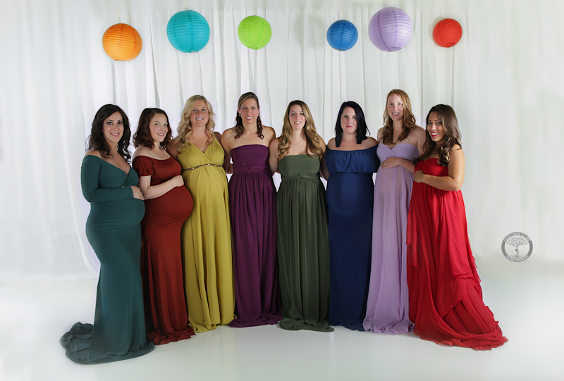 JoAnn Marrero photographed eight mothers to celebrate their rainbow babies. (JoAnn Marrero/From Labor to Love)