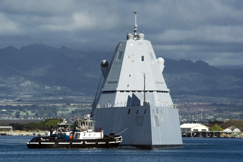 The lead ship of the US at the Joint Base Pearl Harbor-Hickam in April. Source: AAP