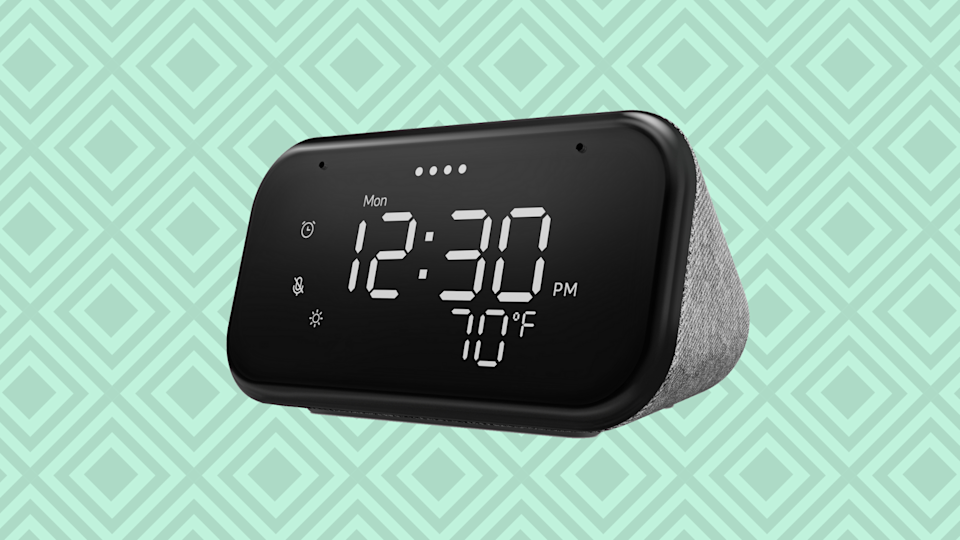Wake up! (And save nearly 50 percent on this snazzy smart clock). (Photo: Walmart)