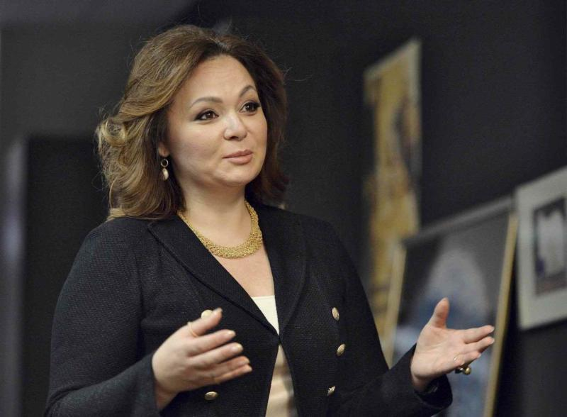 Russian lawyer Natalia Veselnitskaya speaks during an interview in Moscow Russia