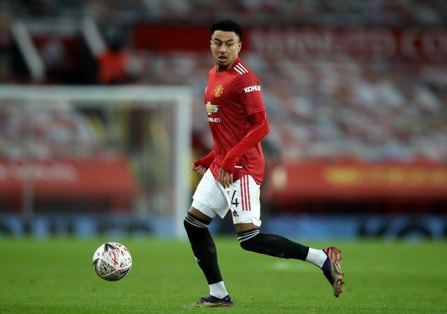 Jesse Lingard only appeared for Manchester United three times in all competitions this season