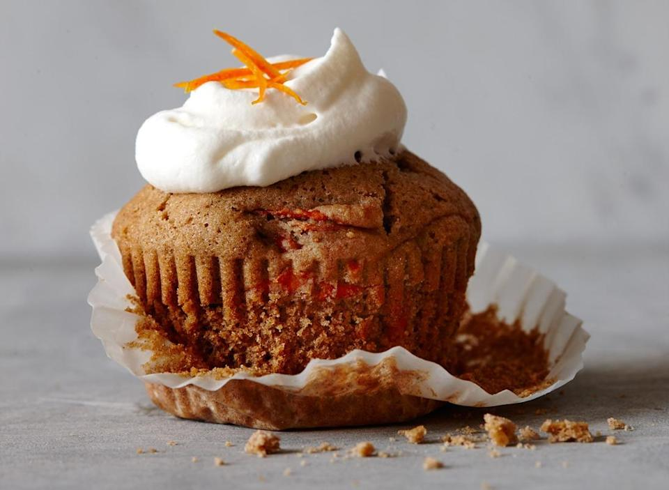 Carrot cupcake frosting