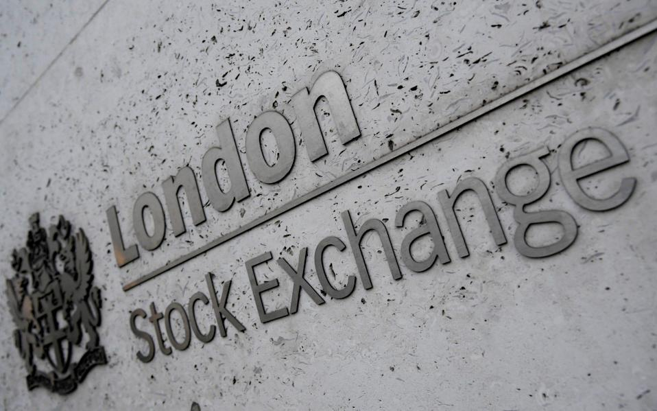 London Stock Exchange's FTSE 100 index has surpassed 7,000 points for the first time since the pandemic began - Toby Melville/Reuters