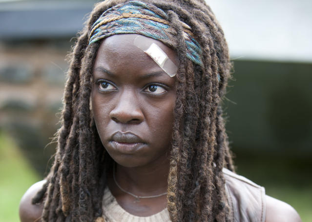 Danai Gurira as Michonne in 'The Walking Dead' (Photo: AMC)