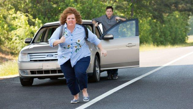 Melissa McCarthy and Jason Bateman in 'Identity Thief'