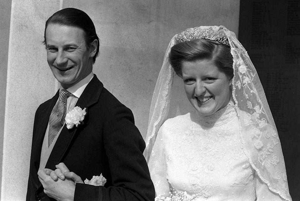 Lady Jane Fellowes also wore the tiara at her wedding in 1978. Photo: Getty Images