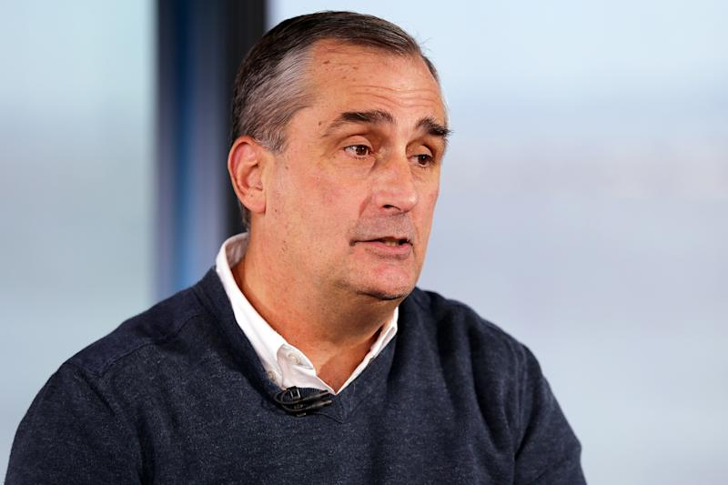 Intel CEO Brian Krzanich Just Stepped Down from Trump's Council