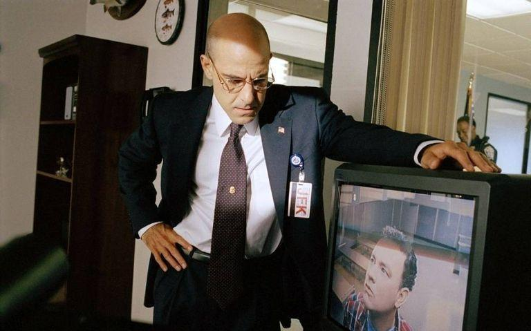Stanley Tucci in The Terminal