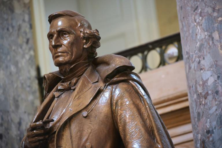 Following mass protests over systemic US racism, House Speaker Nancy Pelosi has called for statues depicting officials from the Confederacy, including Confederate States of America president Jefferson Davis, to be removed from the US Capitol