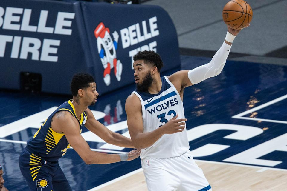 Karl-Anthony Towns has three years and more than $101 million remaining on his contract. Figuring out his future with the team will be one of the big tasks awaiting new ownership.