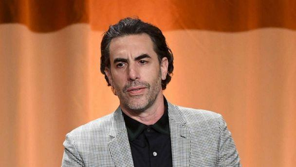 PHOTO: In this July 31, 2019, file photo, Sacha Baron Cohen speaks onstage during Hollywood Foreign Press Association's Annual Grants Banquet in Beverly Hills, Calif. (Kevin Winter/Getty Images, FILE)