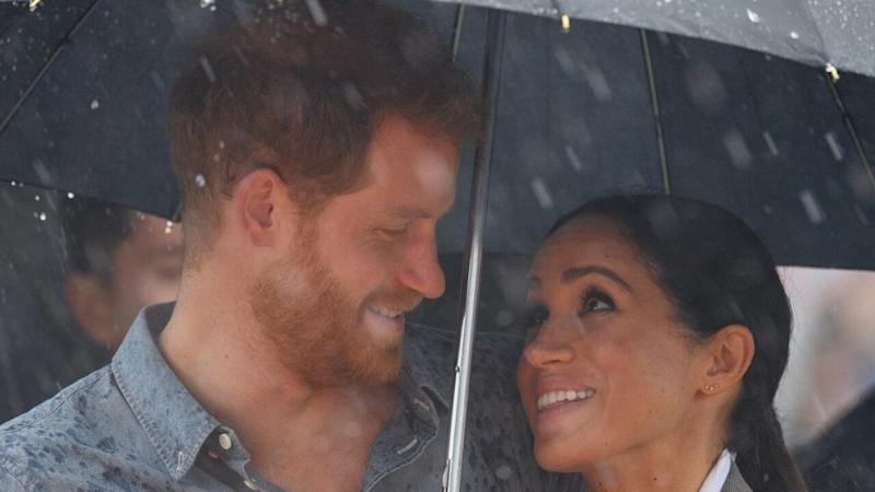 The Duke and Duchess of Sussex have never been shy about showing their affection!