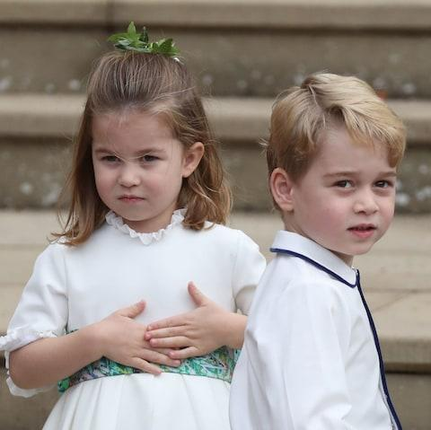 Princess Charlotte and Prince George - Credit:  WPA Pool/ Getty Images Europe