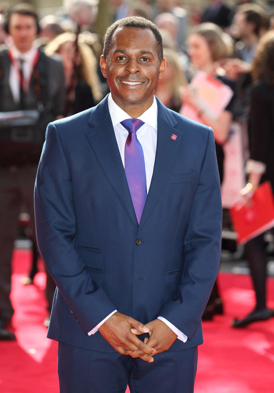 LONDON, ENGLAND - MARCH 12:  Andi Peters attends The Prince's Trust Celebrate Success Awards at Odeon Leicester Square on March 12, 2015 in London, England.  (Photo by Mike Marsland/WireImage)