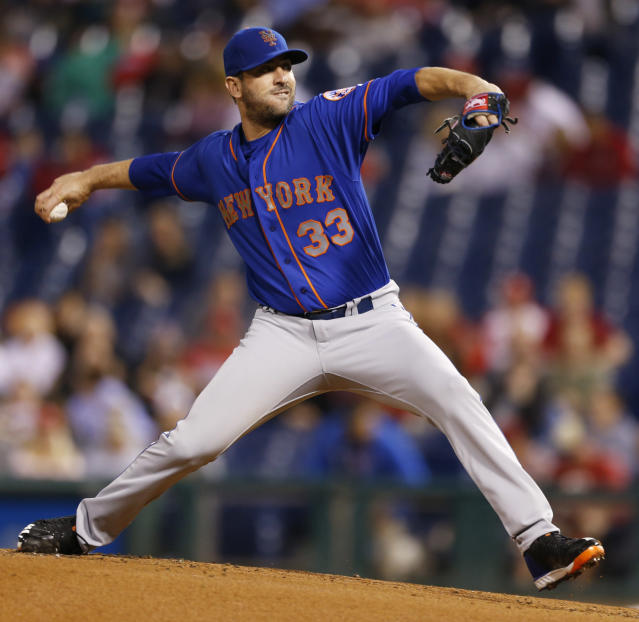 Matt Harvey looked good in his first spring start of 2018. (AP Photo/Laurence Kesterson)