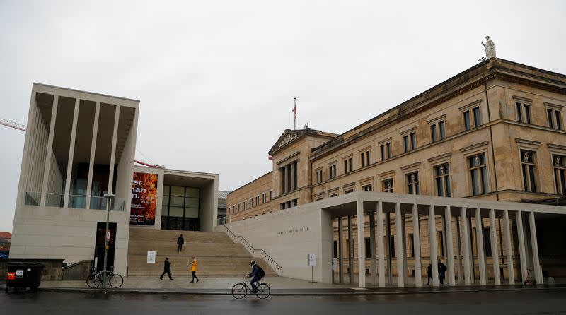 A general view shows the James-Simon gallery in Berlin