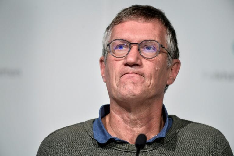State epidemiologist Anders Tegnell of the Swedish Public Health Agency became the face of the country's coronavirus response