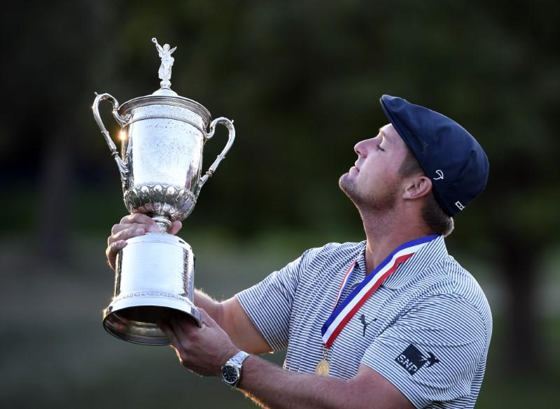 DeChambeau's 'mad scientist' muscle validated in U.S. Open win