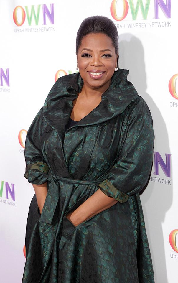 "January 29: Oprah Winfrey turns 57 Todd Williamson/<a href=""http://www.wireimage.com"" target=""new"">WireImage.com</a> - January 6, 2011"