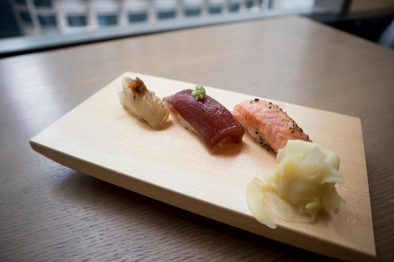 Sushi. (Photo: Zat Astha/Yahoo Lifestyle Singapore)
