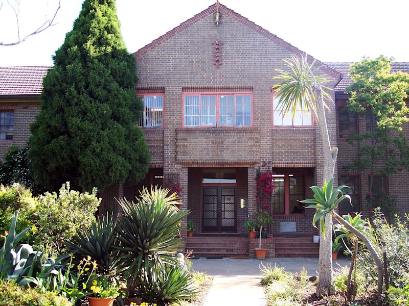 Drug rehabilitation centre Odyssey House located in a former Christian Brothers monastery at Eagle Vale, in Sydney's south-west.